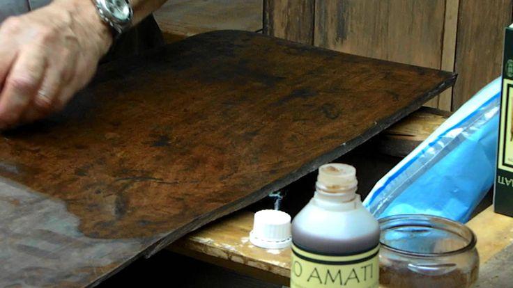 Balsamo Amati lucidatura e restauro mobili (parte1)
