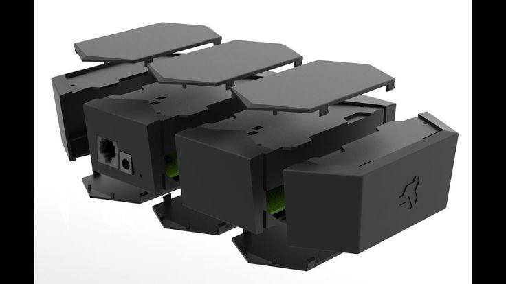 Mediante una campaña de crowdfunding en el conocido site Indiegogo está siendo financiado el nuevo router modular Turris MOX de la compañía checa CZ.NIC.