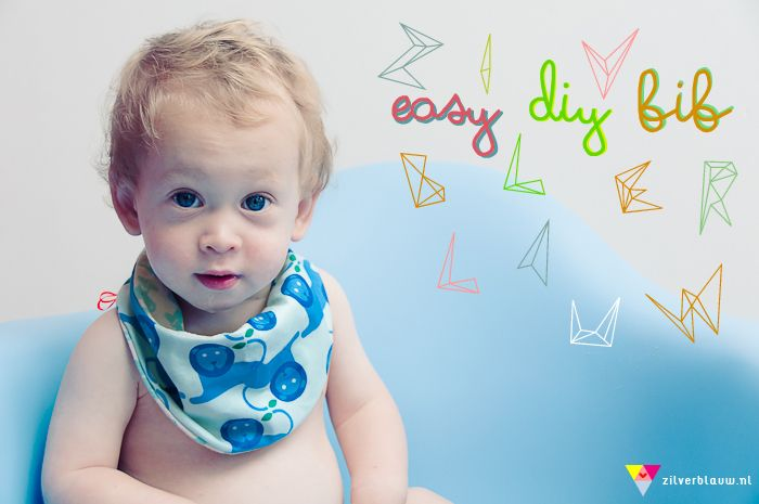 DIy baby drool bib. easy tutorial with pictures