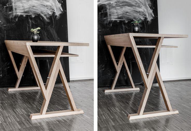 die besten 25 tisch h henverstellbar ideen auf pinterest. Black Bedroom Furniture Sets. Home Design Ideas