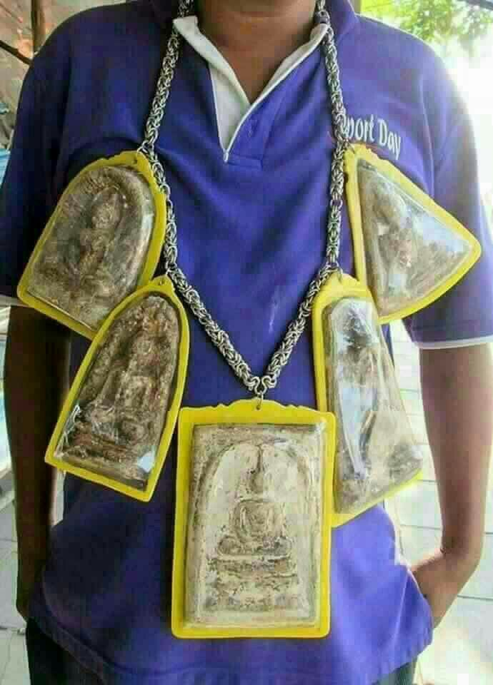 Protection by Thai Amulets
