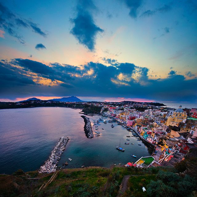 Procida Island - Italy | Vicenzo ScalaNaples Italy, Beautiful Italy, Favorite Places, Islands Italy, Beautiful Places, Pinterest Friends, Travel, Procida Islands, Friends Dashboard