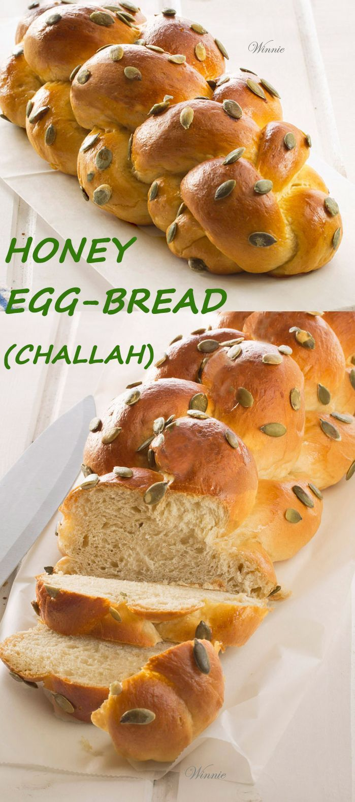 Rich and very soft Honey (or Date-syrup) Challah.   http://www.winnish.net/2013/01/2373/