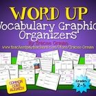 Common Core Vocabulary Graphic Organizers for Grades 2 - 5 includes 12 separate organizers to help students practice essential skills.What makes ...