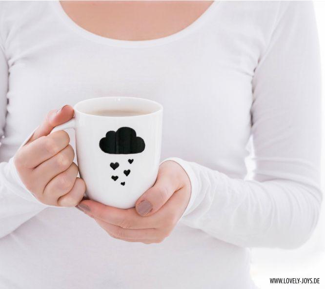 Perfect winter diy mug