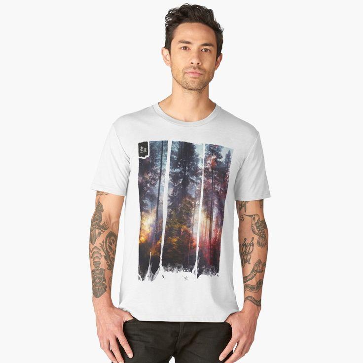 'Warm fuzzy feelings' Men's Premium T-Shirt by HappyMelvin. #clothing #fashion #original #nature #wanderlust #tshirt