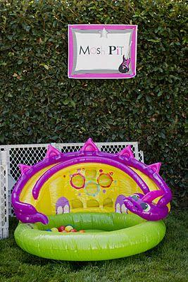 """mosh pit"" ball pit for rockstar birthday"