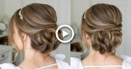Simple Formal Updo | Missy Sue #hair #wedding #hairstyles #promhairupdotutorial