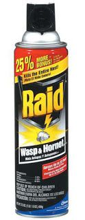 Wasp Spray is Not a Substitute for Pepper Spray