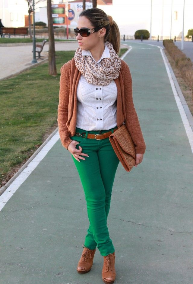 pantalon verde - Buscar con Google