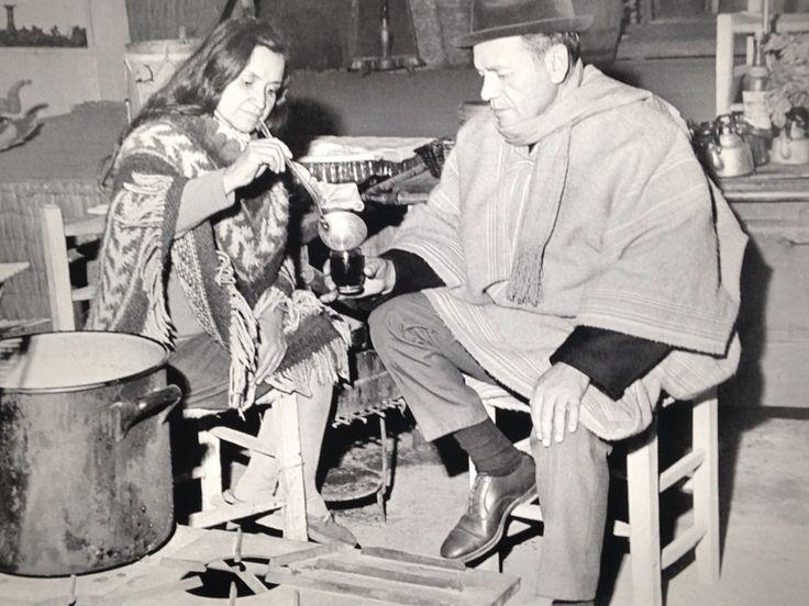 Violeta Parra y Nicanor Parra