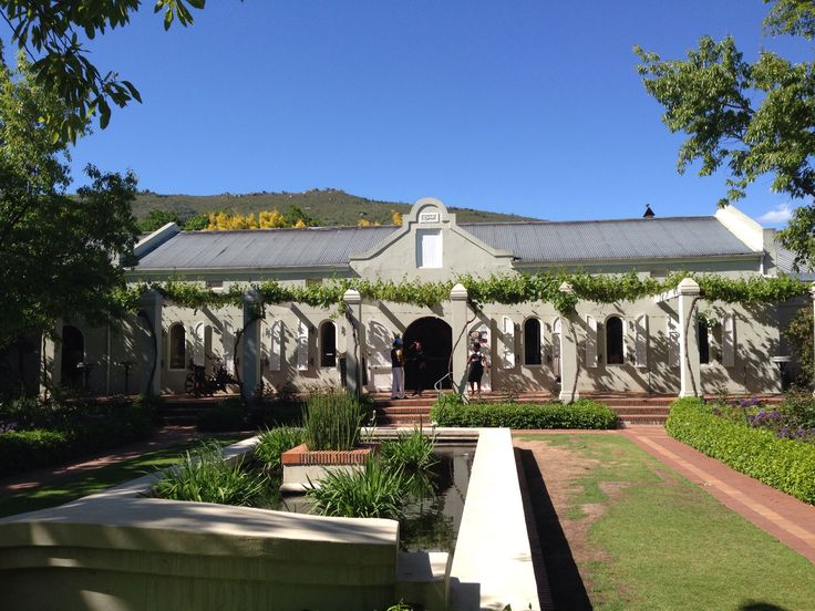 Fairview cheese and wine farm outside of Paarl in the Western-Cape , South Africa