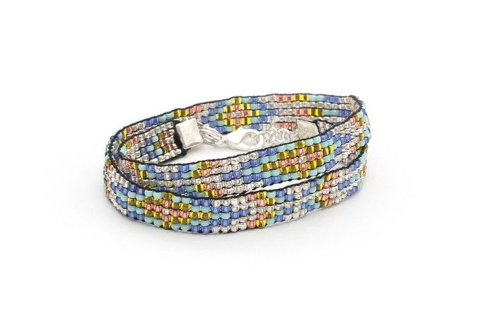 Orange Totem Wrap Bracelet by Totem