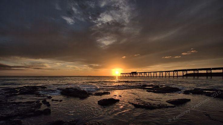 Sunrise at Catherine Hill Bay