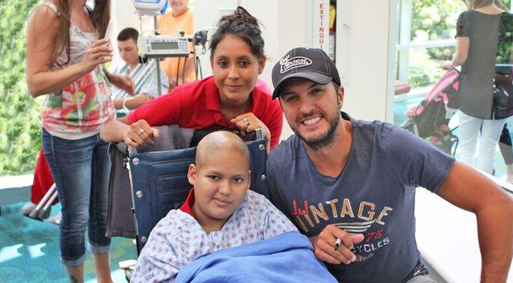 Country Music Lyrics - Quotes - Songs Luke bryan - Luke Bryan's Heartwarming Hospital Visit Gives Kids A Reason To Smile - Youtube Music Videos http://countryrebel.com/blogs/videos/59457475-luke-bryans-heartwarming-hospital-visit-gives-kids-a-reason-to-smile