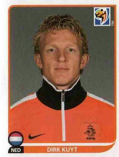 Dirk Kuyt of Holland. 2010 World Cup Finals card.