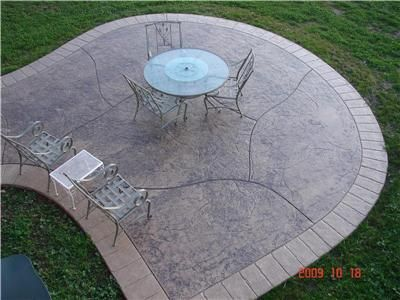 Stamped Concrete Patterns And Designs | Cost-Saving Ideas for Stamped Concrete - The Concrete Network