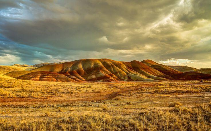 США, Центральный Орегон, john day fossil beds national monument