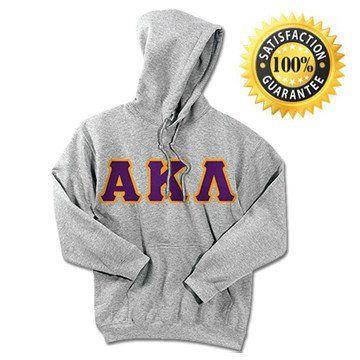 Alpha Kappa Lambda Standards Hooded Sweatshirt - $25.99 Gildan 18500 - TWILL