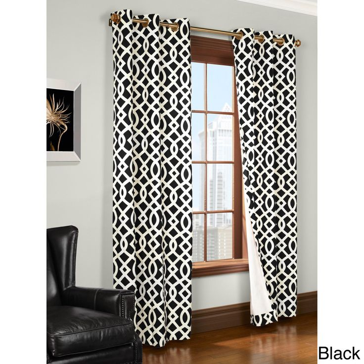 Trellis ed Thermal Insulated Curtain Panel