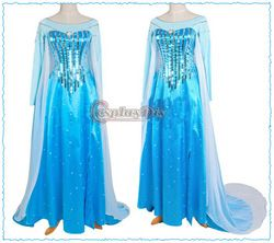 A dress worthy of any daughter of Poseidon