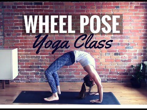 wheel pose is an intermediate to advanced posture that can