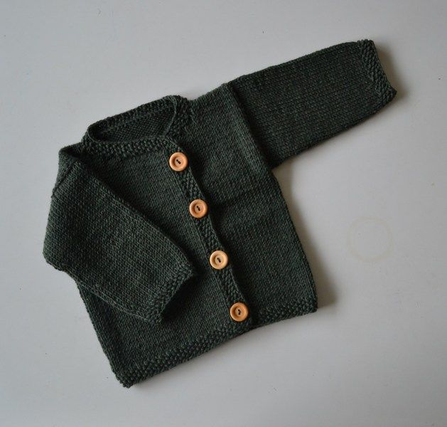 Strickjacke, Merino-Wolle // knitted jacket by Ökolinchen via DaWanda.com