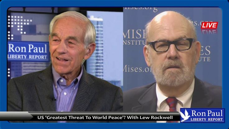 US 'Greatest Threat To World Peace'? With Lew Rockwell