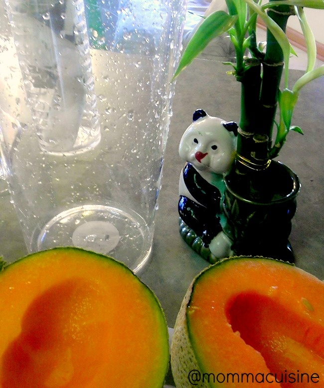 cantaloupe iced tea! Love it! Love my tea pitcher, so this is perfect!!: Favorite Places, Iced Tea, Cantaloupe Iced