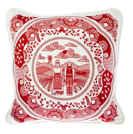 Voortrekker Red Cushion