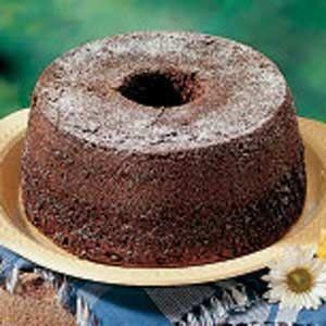 Chocolate Chiffon Cake Recipe | Taste of Home Recipes