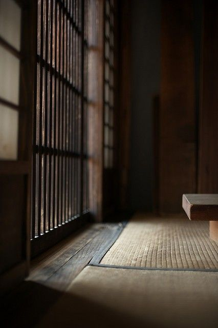 Filtered light, Japanese tatami room