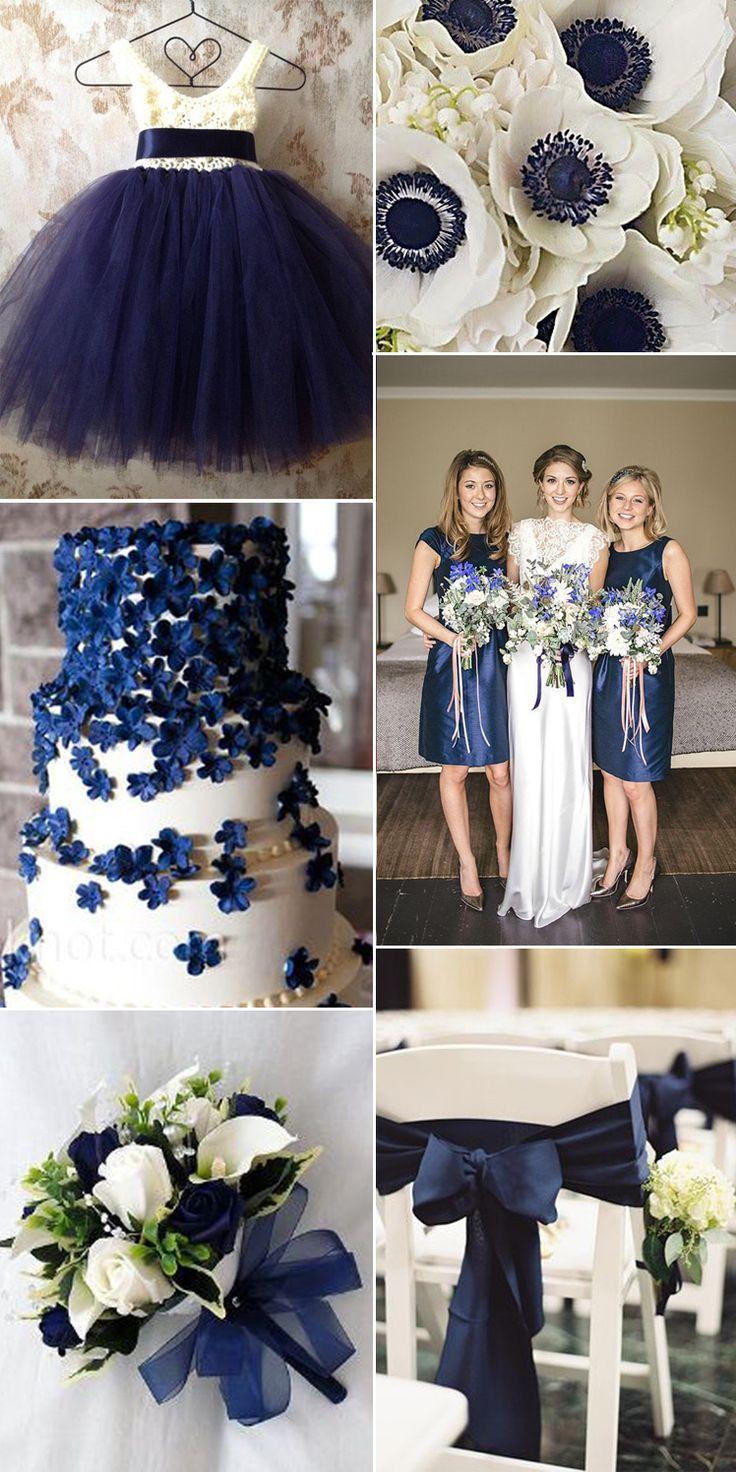 110 Best Navy Wedding Ideas Images On Pinterest