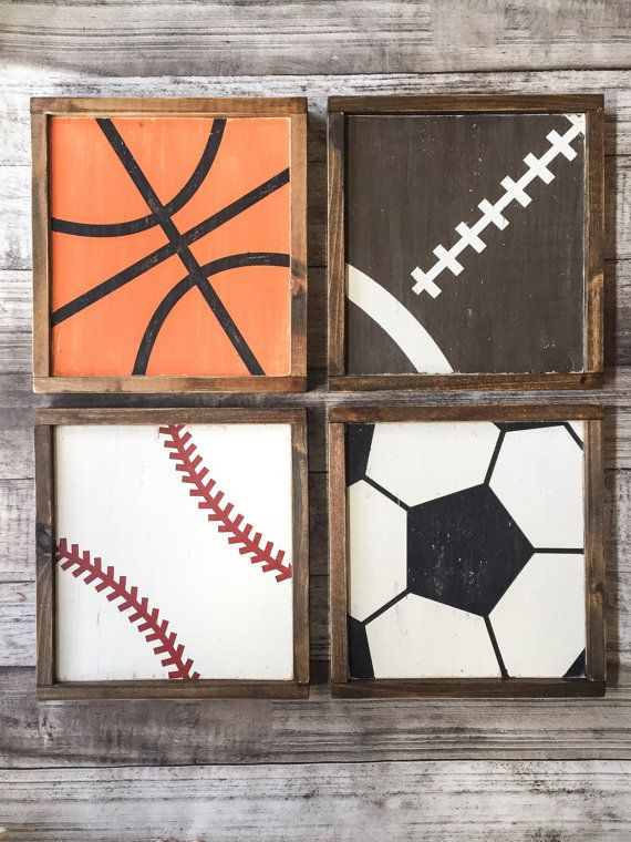 Deportes signos madera  béisbol signo  signo por AnchorandCompany