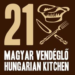 21 Hungarian Bistro up in the Castle with fantastic food (5 minutes walk from Castle Hill, 15 minutes walk from KAPLAR)