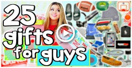 25 Mens Gift Ideas for Boyfriend!!   Christmas Gift Guide for Him 2017