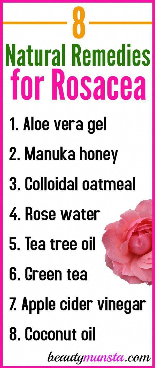 8 natürliche Heilmittel für Rosacea – Lets get…