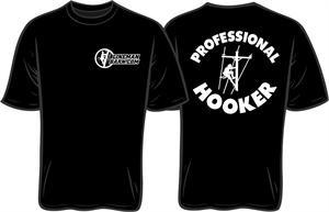 Professional Hooker Lineman Shirt  Lineman Barn