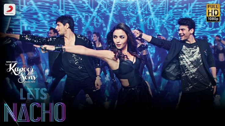 #2016 #20160308  #Bollywood #BollywoodSongHIT Song: #LetsNacho #KapoorAndSons ~ Let's Nacho - Kapoor & Sons | Sidharth | Alia | Fawad | Badshah | Benny Dayal | Nucleya https://youtu.be/TLnwqAarPkM