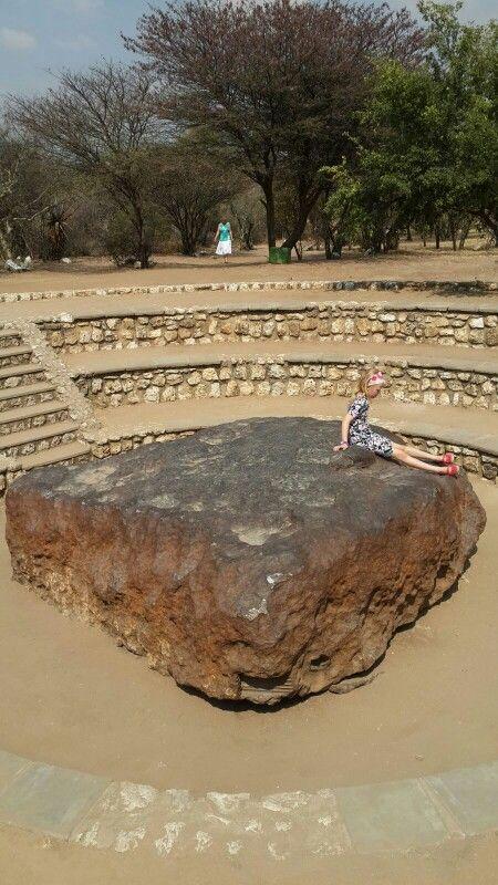 Hoba Meteorite Namibia 2015