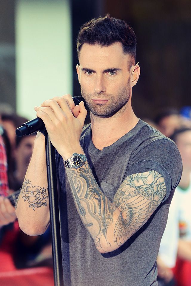 40 best Adam Levine Tiger Tattoo Drawing images on ...