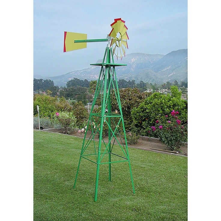 Multicolor Decorative Windmill