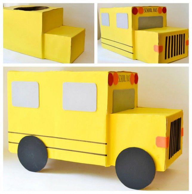 Como hacer un disfraz de autobús