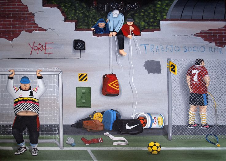 THE ART OF MARTIN GORDOPELOTA – Kicks to the Pitch