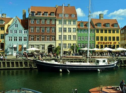 Nyhavn,Copenhagen,Denmark