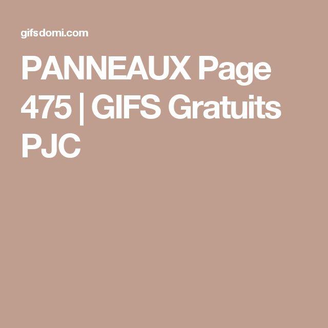 PANNEAUX Page 475 | GIFS Gratuits PJC