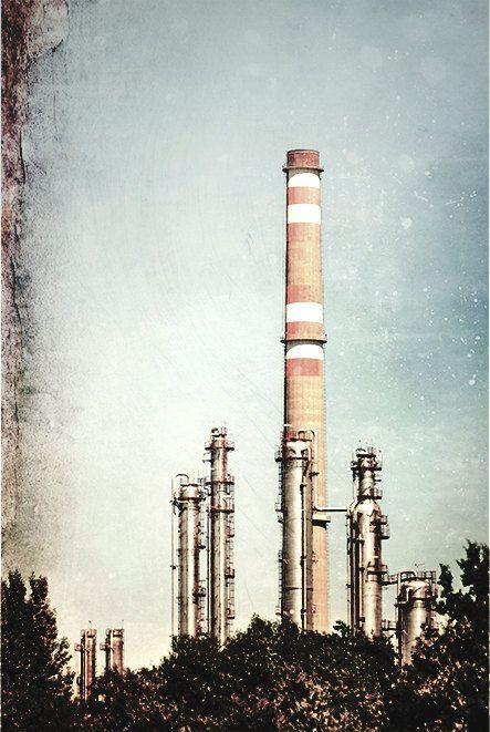 landscape photography Industrial photography art photo by MagicSky, Kč400.00