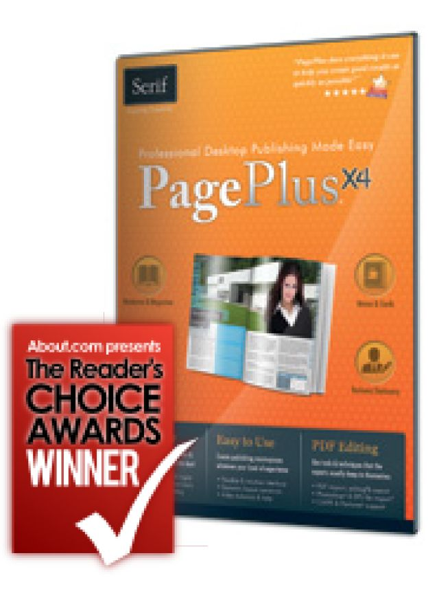 Want a Top Rated Desktop Publishing App for Windows?  Here's What the Pros Use: Serif PagePlus