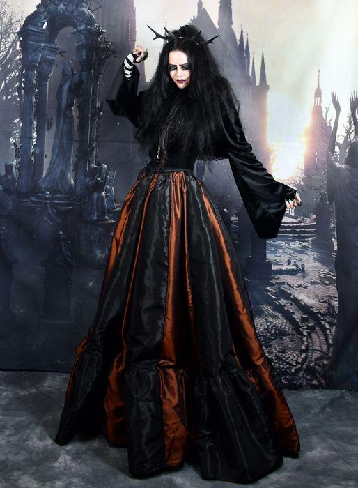Adella Shawlero by Moonmaiden Gothic Clothing UK