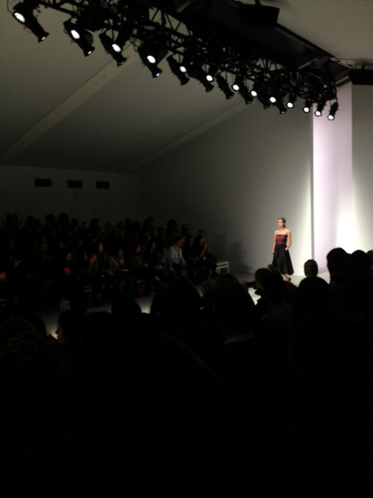 London fashion week show - somerset house. Core of upcoming street style and high fashion.